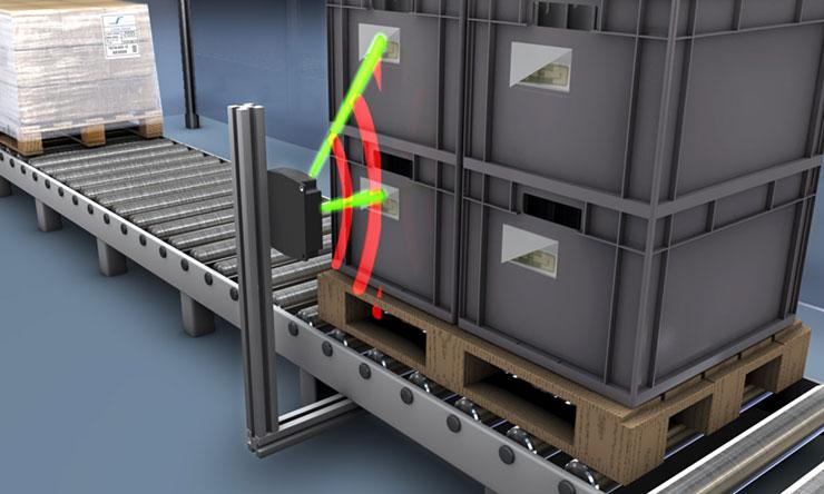 RFID alkalmazása görgőspálya mentén