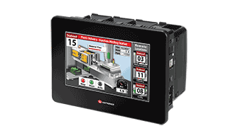 "Moduláris PLC + HMI, Unitronics Unistream 7"""
