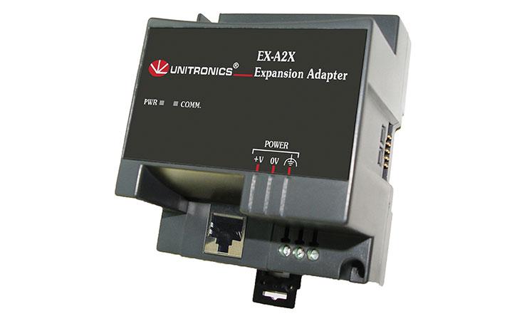 Unitronics EX-A2x I/O bővítőadapter