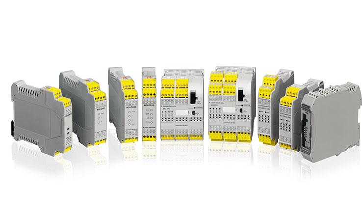 MIS biztonsági relék és programozható vezérlők