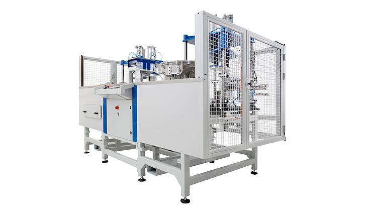 Egyedi gépgyártás eredménye, egy szivárgásellenőrző célgép, gépgyártó: Kvalix Kft.