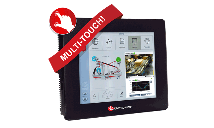 multi-touch UniStream