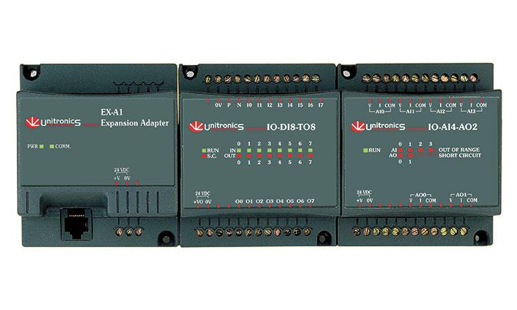 Unitronics PLC I/O modulok