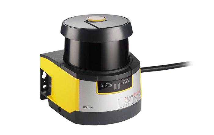RSL400 biztonsági lézerradar illetve szkenner