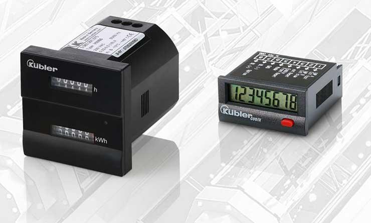 kWh kombinált számláló és elektronikus impulzusszámláló