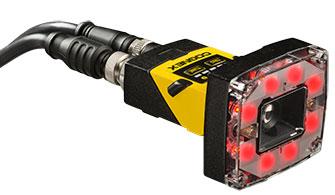 In-Sight 2000 képfeldolgozó érzékelő vörös világítással