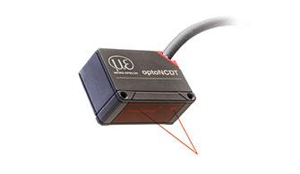 optoNCDT 1420 lézeres érzékelő