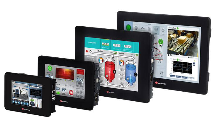 UniStream PLC + HMI